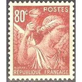France num Yvert 431 ** MNH Iris Année 1939