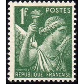 France num Yvert 432 ** MNH Iris Année 1939