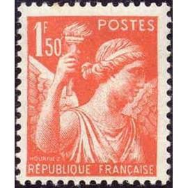 France num Yvert 435 ** MNH Iris Année 1939