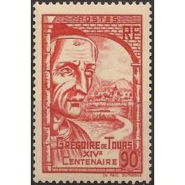 France num Yvert 442 ** MNH De Tours clermont Année 1939