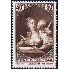 France num Yvert 446 ** MNH Fragonnard Année 1939