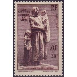 France num Yvert 447 ** MNH Statue desruelles Marin Année 1939