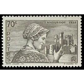 France num Yvert 448 ** MNH Beziers Année 1939