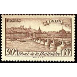 France num Yvert 450 ** MNH Pont à Lyon Année 1939