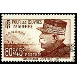 France num Yvert 454 ** MNH Joseph Joffre Année 1940