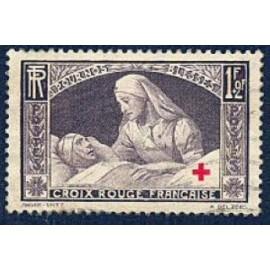 France num Yvert 460 ** MNH Croix rouge Année 1940