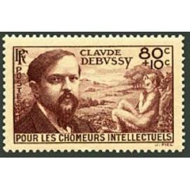 France num Yvert 462 ** MNH Debussy Année 1940