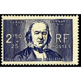 France num Yvert 464 ** MNH Claude bernard Année 1940