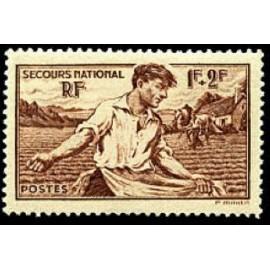 France num Yvert 467 ** MNH Semailles Année 1940