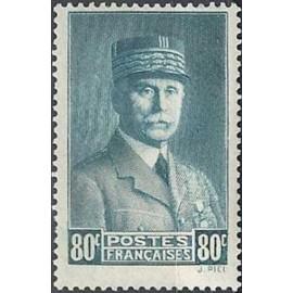 France num Yvert 471 ** MNH Marechal Année 1941