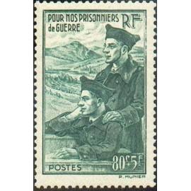 France num Yvert 474 ** MNH Prisonniers  Année 1941