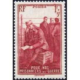 France num Yvert 475 ** MNH Prisonniers  Année 1941