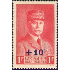 France num Yvert 494 ** MNH marechal Année 1941