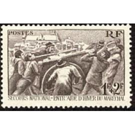 France num Yvert 497 ** MNH Secours National Année 1941