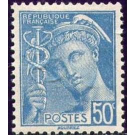 France num Yvert 538 ** MNH Mercure Année 1942