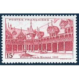 France num Yvert 539 ** MNH Beaune Année 1942