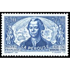 France num Yvert 541 ** MNH La Perouse Astrolabe Année 1942