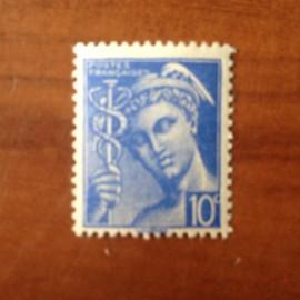 France num Yvert 546 ** MNH Mercure Année 1942