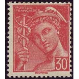 France num Yvert 547 ** MNH Mercure Année 1942