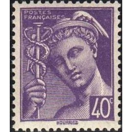 France num Yvert 548 ** MNH Mercure Année 1942