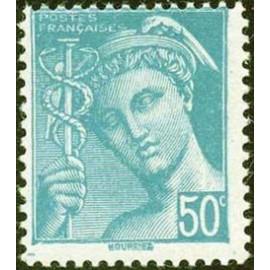 France num Yvert 549 ** MNH Mercure Année 1942