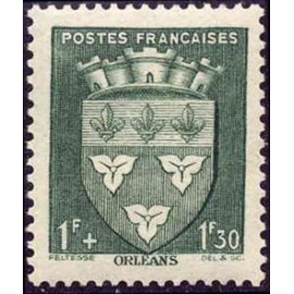 France num Yvert 556 ** MNH Armoiries  Orleans Année 1942