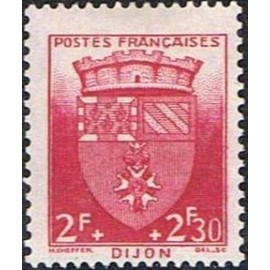France num Yvert 559 ** MNH Armoiries  Dijon Année 1942