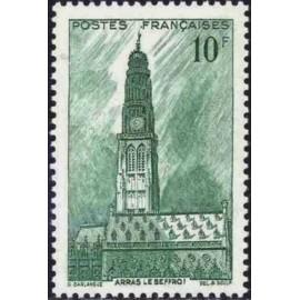 France num Yvert 567 ** MNH Beffroi d' arras Année 1942