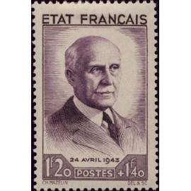 France num Yvert 576 ** MNH  Année 1943