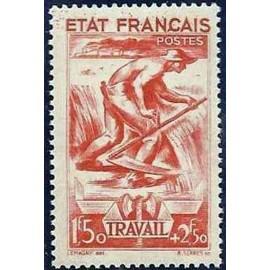 France num Yvert 577 ** MNH  Année 1943