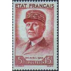 France num Yvert 580 ** MNH  Année 1943