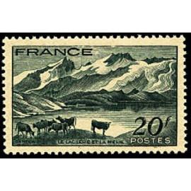 France num Yvert 582 ** MNH Dauphiné Vache Année 1943