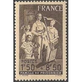 France num Yvert 585 ** MNH Enfant Année 1943