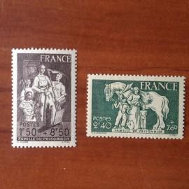France num Yvert 585-586 ** MNH  Année 1943
