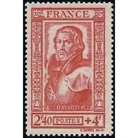 France num Yvert 590 ** MNH Seigneur de Baillard Année 1943