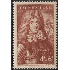 France num Yvert 600 ** MNH Compte de Tourville Année 1944
