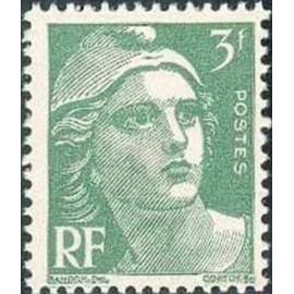 France num Yvert 716A ** MNH Marianne de Gandon Année 1945