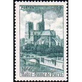 France num Yvert 776 ** MNH Notre dame Paris Année 1947