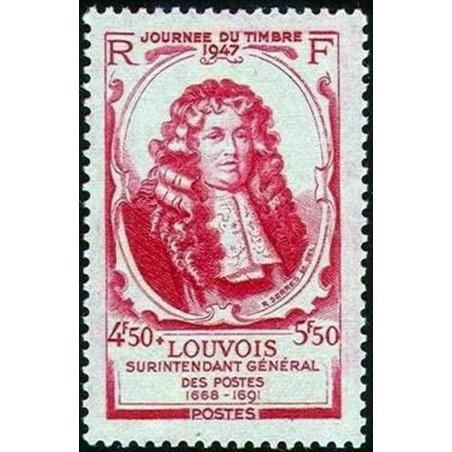 France num Yvert 779 ** MNH Journee du timbre Année 1947