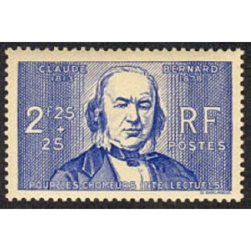 France num Yvert 439 ** MNH Claude bernard Année 1939