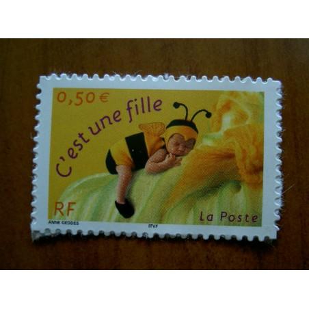 France num Yvert 3634 ** MNH Année 2004 bebe abeille c'est une fille