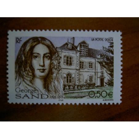 France num Yvert 3645 ** MNH Année 2004 Georges Sans Nohant