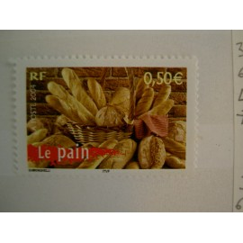 France num Yvert 3649 ** MNH Année 2004 Pain Boulangerie