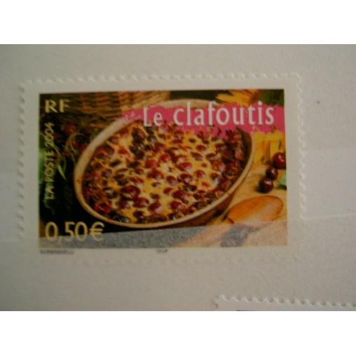 France num Yvert 3654 ** MNH Année 2004 cerise gateau boulangerie