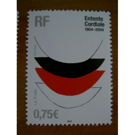 France num Yvert 3658 ** MNH Année 2004 Terry Frost