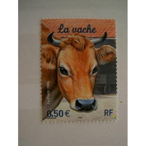 France num Yvert 3664 ** MNH Année 2004 Vache