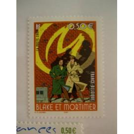 France num Yvert 3669 ** MNH Année 2004 Blake et Mortimer  Jacobs