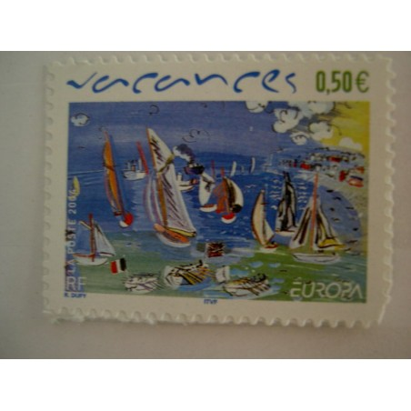 France num Yvert 3672 ** MNH Année 2004 Vacances Dufy