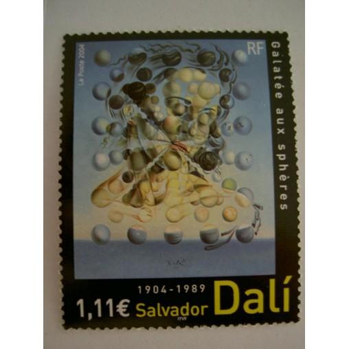 France num Yvert 3676 ** MNH Année 2004 Tableau Dali