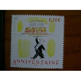 France num Yvert 3688 ** MNH Année 2004 Sempé Anniversaire